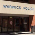 Warwick Police Headquarters at 99 Veterans Memorial Drive.